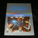 Star Raiders - Atari 5200 - Manual Only