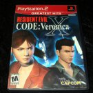 Resident Evil CODE Veronica X - Sony PS2 - Complete CIB
