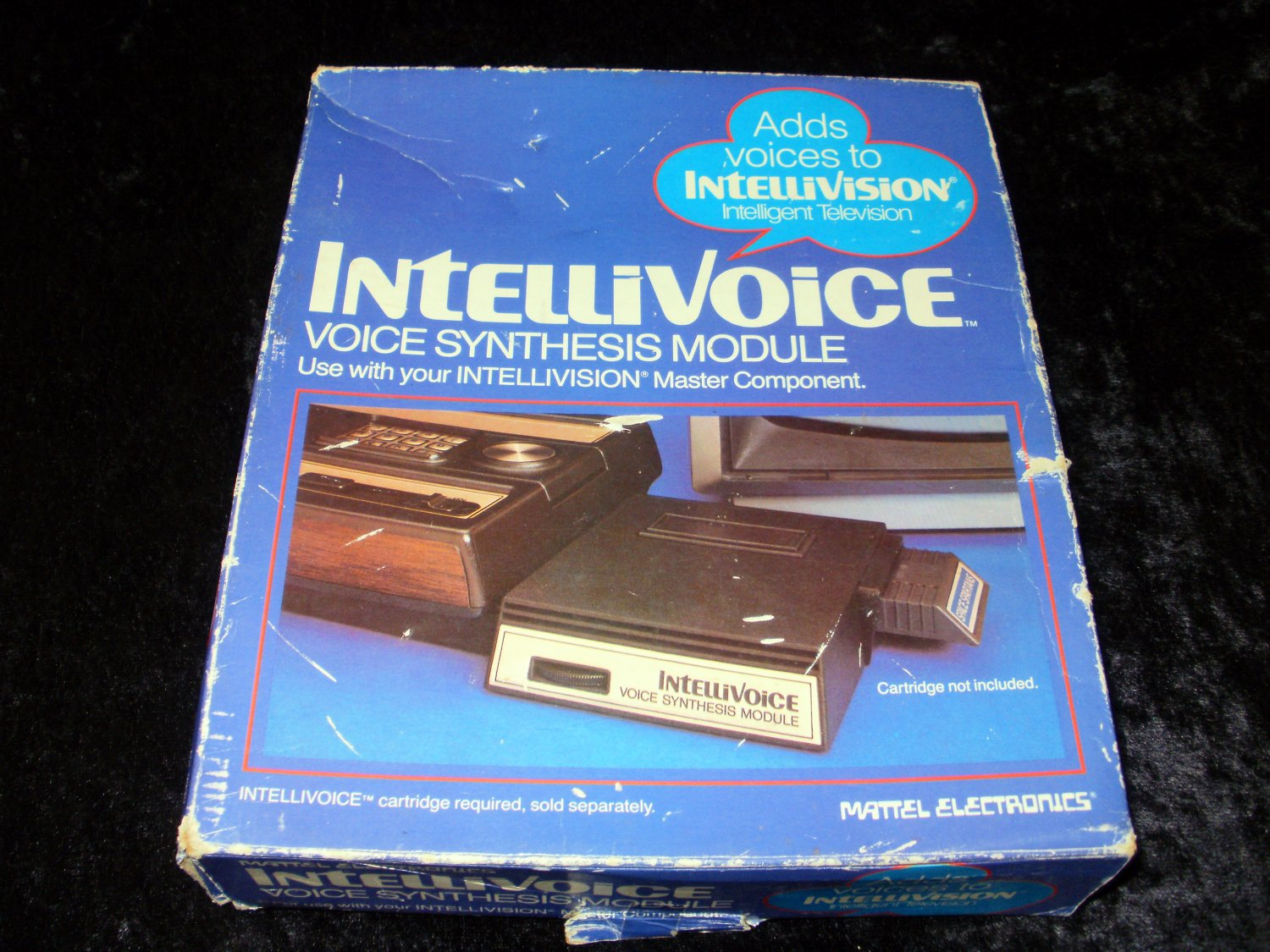 Intellivoice Voice Synthesis Module - Mattel Intellivision - With Box