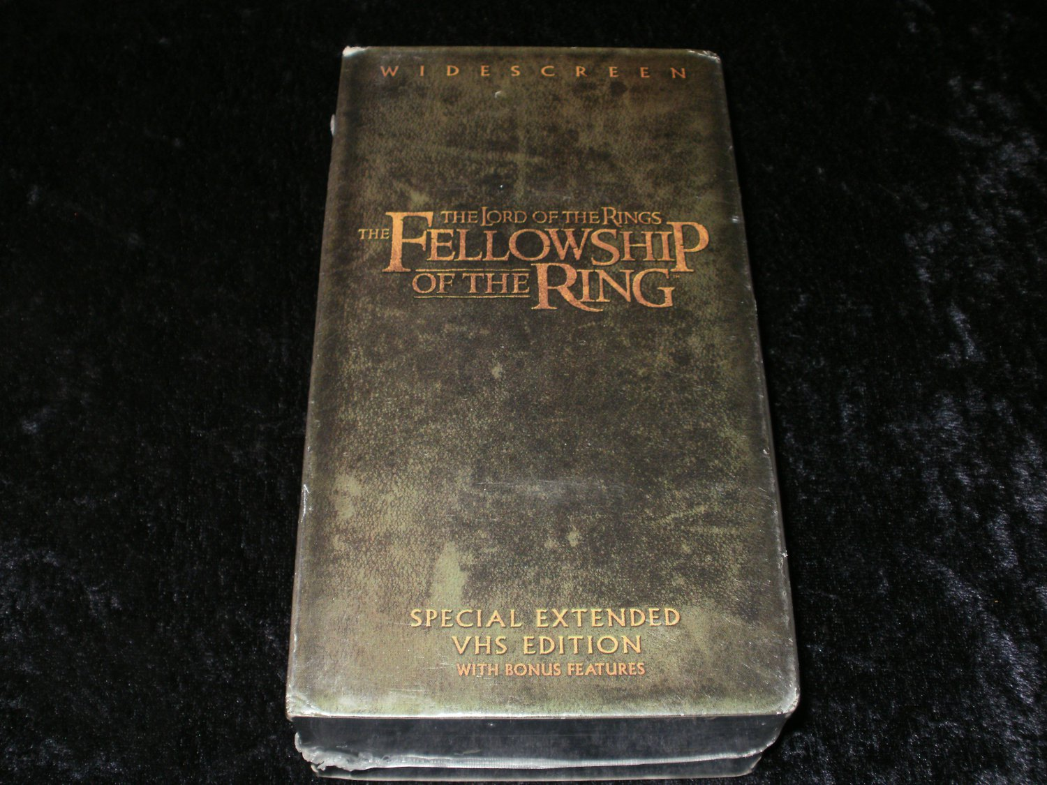 The Lord of Rings Fellowship of Ring (Special Extended Edition) - VHS - 2 Tape Set - Brand New