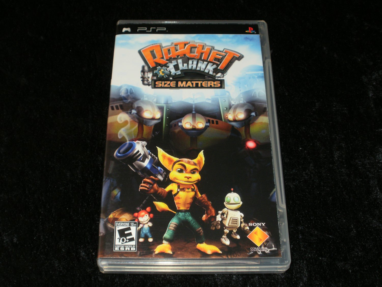 Ratchet & Clank Size Matters - Sony PSP - Complete CIB