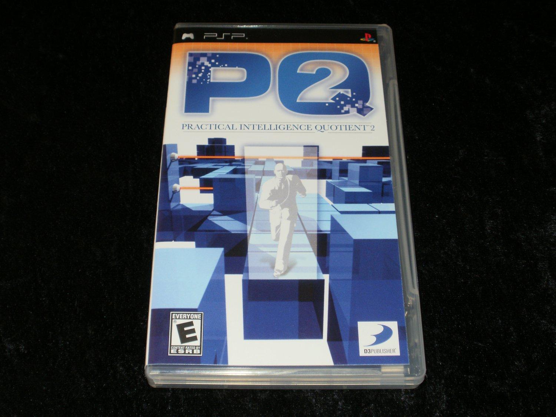 PQ2 Practical Intelligence Quotient - Sony PSP - Complete CIB