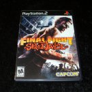 Final Fight Streetwise - Sony PS2 - Complete CIB