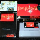 Final Fantasy II - SNES Super Nintendo - Complete CIB