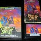 Phantasy Star II - Sega Genesis - Complete CIB