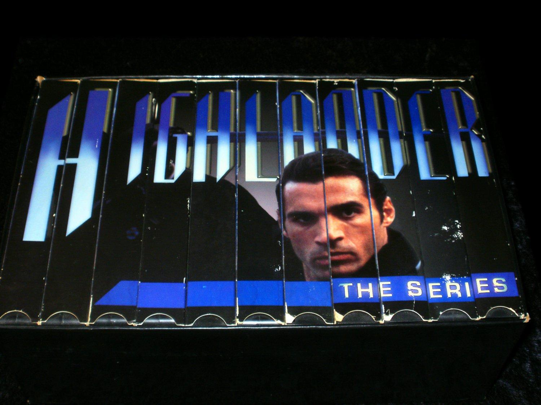 Highlander The Series - Episodes 1-22 - Complete VHS 11 Tape Set