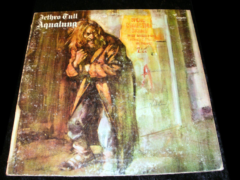 Aqualung - Jethro Tull - LP Record - Chrysalis Records 1971