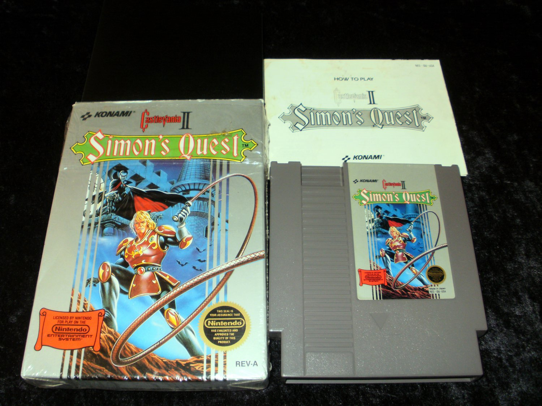 Castlevania II Simon's Quest - Nintendo NES - Complete CIB