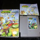 Teenage Mutant Ninja Turtles III The Manhattan Project - Nintendo NES - Complete CIB