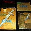 Zelda II The Adventure of Link - Nintendo NES - Complete CIB
