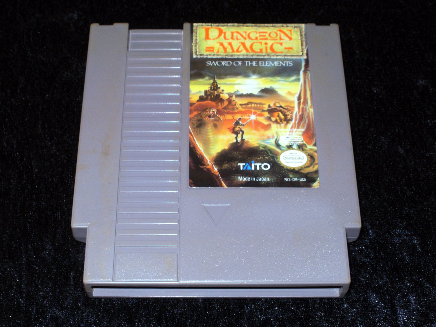Dungeon Magic Sword of the Elements - Nintendo NES