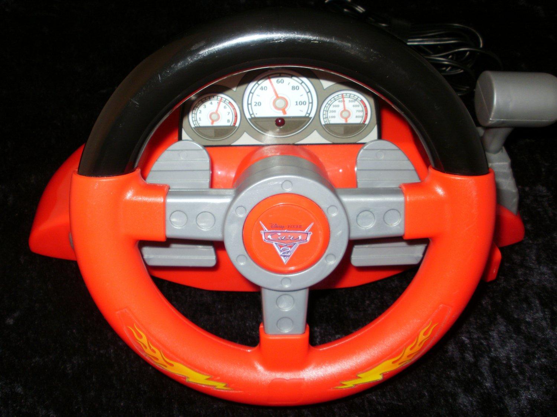 Cars 2 Racing Video Game - Plug & Play - Jakks Pacific 2011 - Rare