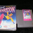 Heavy Shreddin - Nintendo NES - With Box