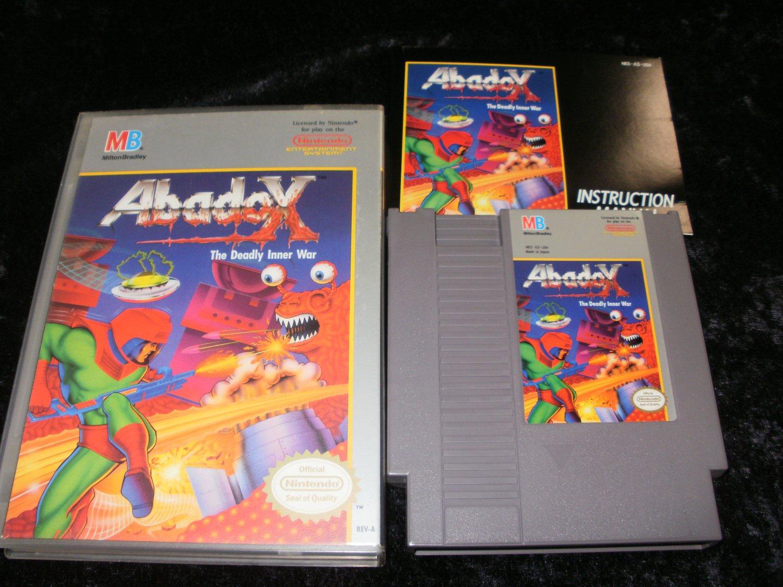 Abadox - Nintendo NES - Complete CIB