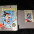 Castlevania II Simon's Quest - Nintendo NES - With Box