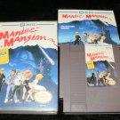 Maniac Mansion - Nintendo NES - Complete CIB