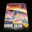 Sonic the Hedgehog 2 - Sega Game Gear - Brand New Factory Sealed