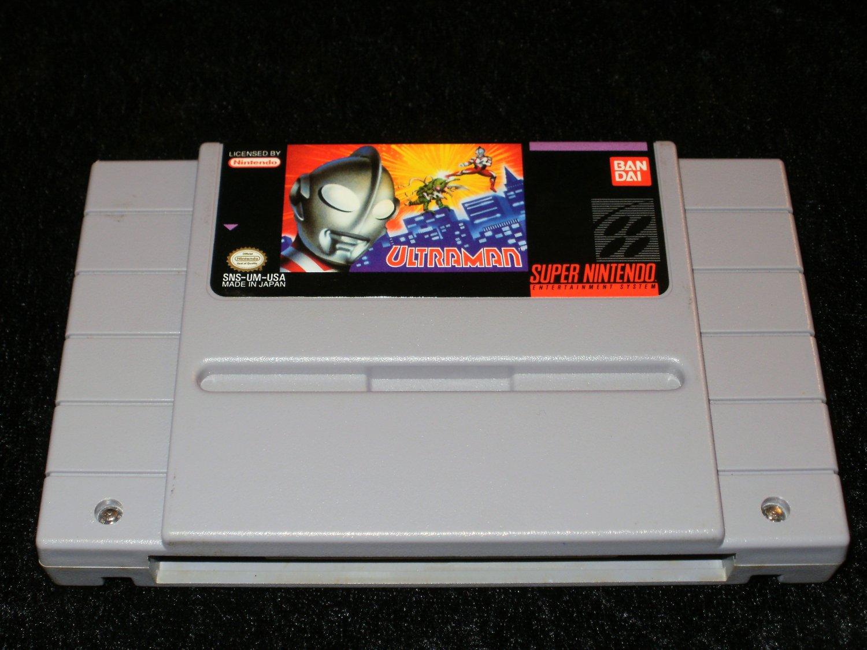 Ultraman - SNES Super Nintendo