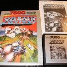 Xevious - Atari 7800 - Complete CIB