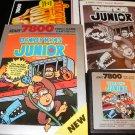 Donkey Kong Junior - Atari 7800 - Complete CIB