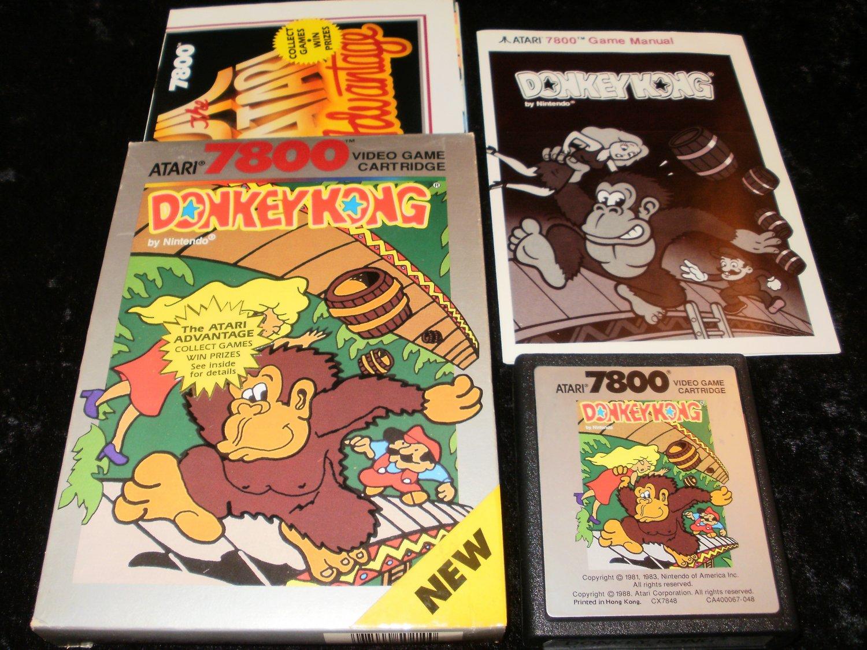 Donkey Kong - Atari 7800 - Complete CIB