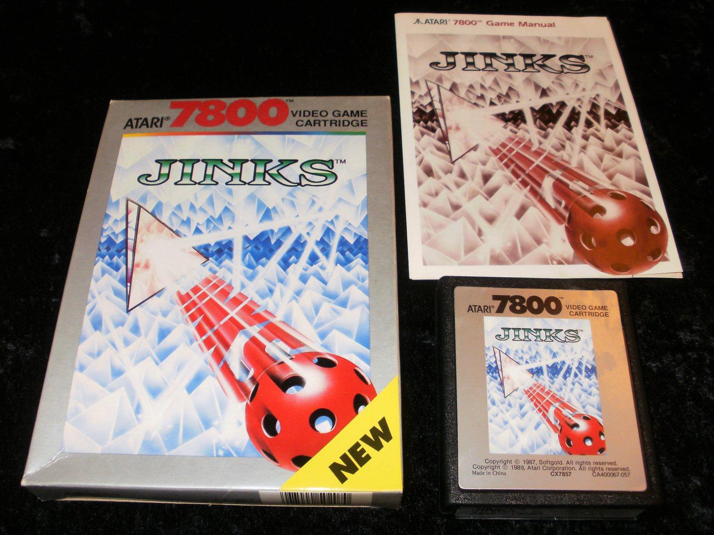 Jinks - Atari 7800 - Complete CIB