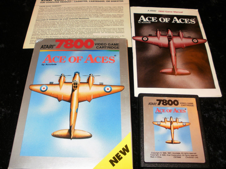 Ace of Aces - Atari 7800 - Complete CIB