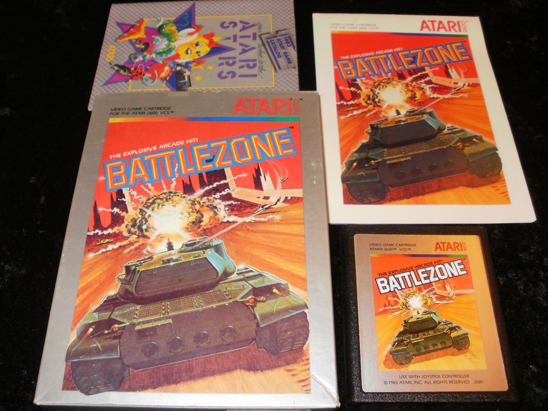Battlezone - Atari 2600 - Complete CIB