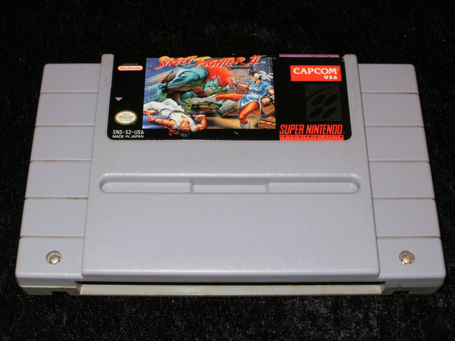 Street Fighter II - SNES Super Nintendo