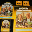Worm Whomper - Mattel Intellivision - Complete CIB - Extremely Rare
