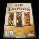 Age of Empires III - 2006 Microsoft - IBM PC - Brand New