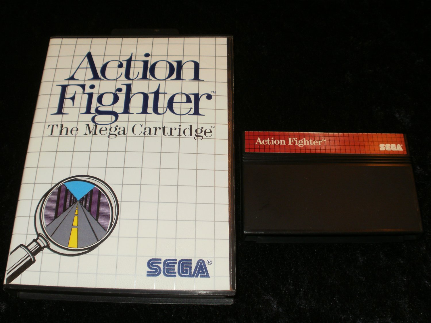 Action Fighter - Sega Master System - With Box
