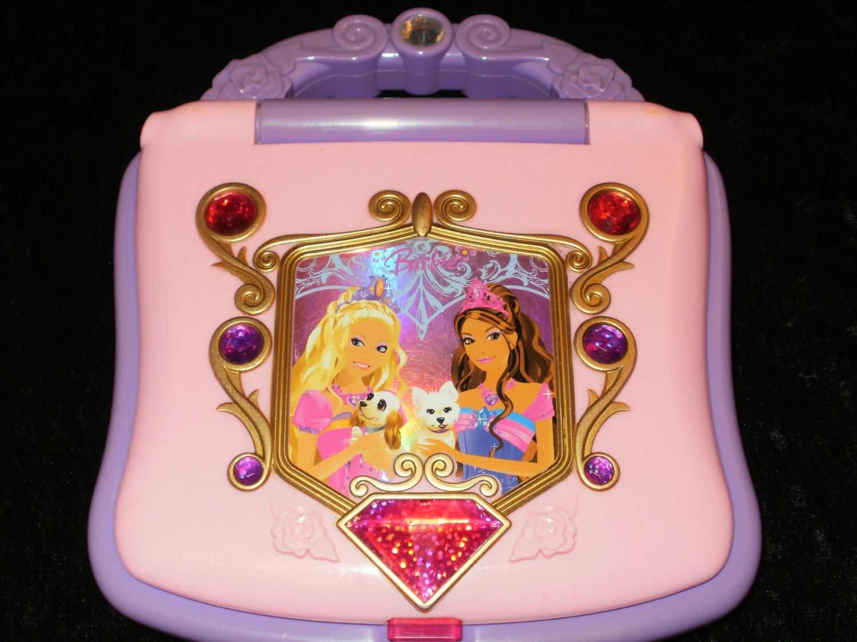 Barbie Diamond Castle Learning Laptop - Oregon Scientific 2008