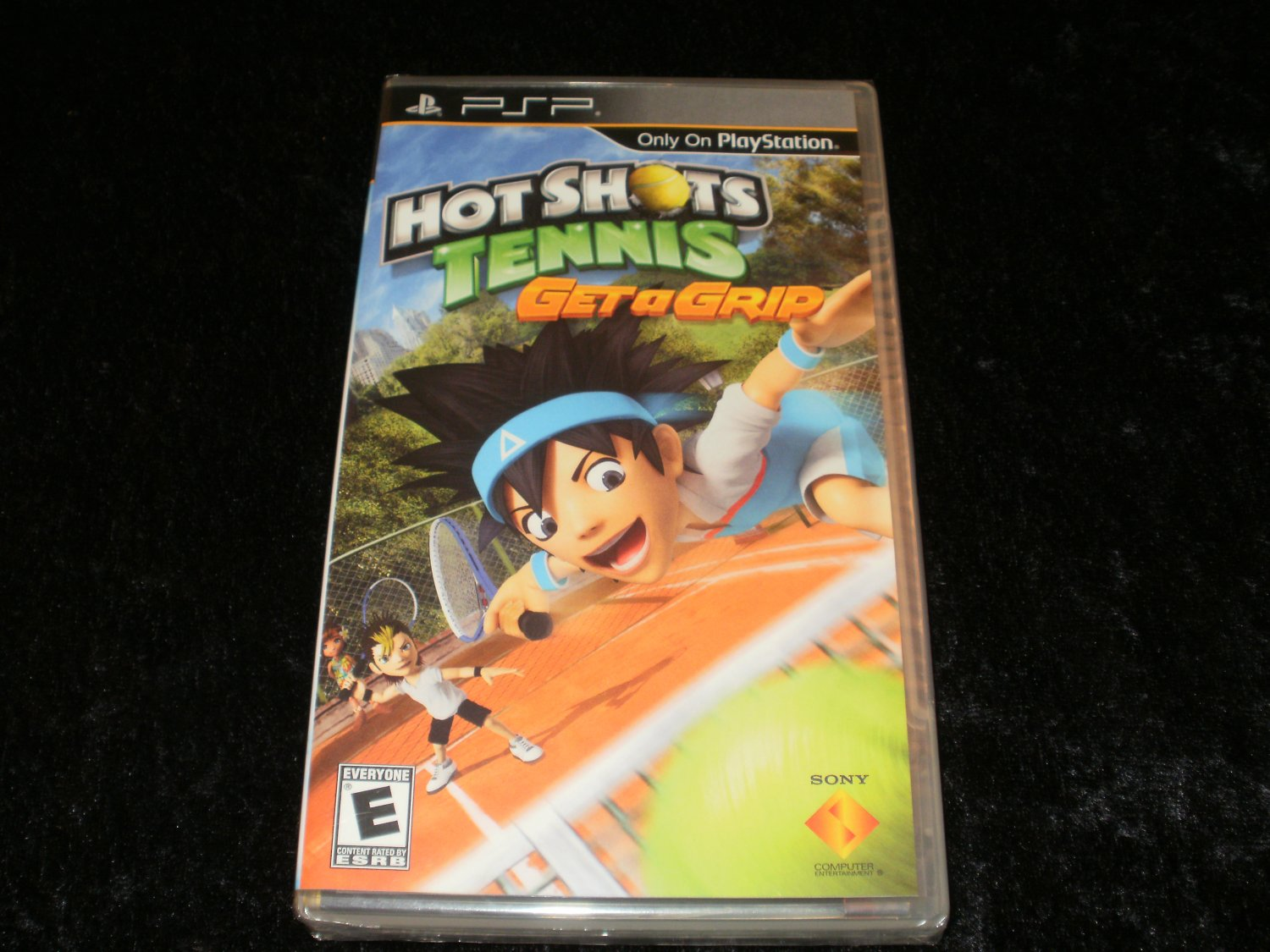 Hot Shots Tennis Get a Grip - Sony PSP - Brand New Factory Sealed