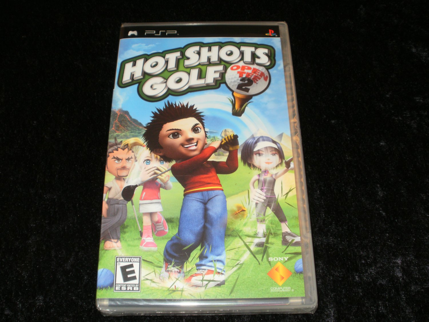 Hot Shots Golf Open Tee 2 - Sony PSP - Brand New Factory Sealed