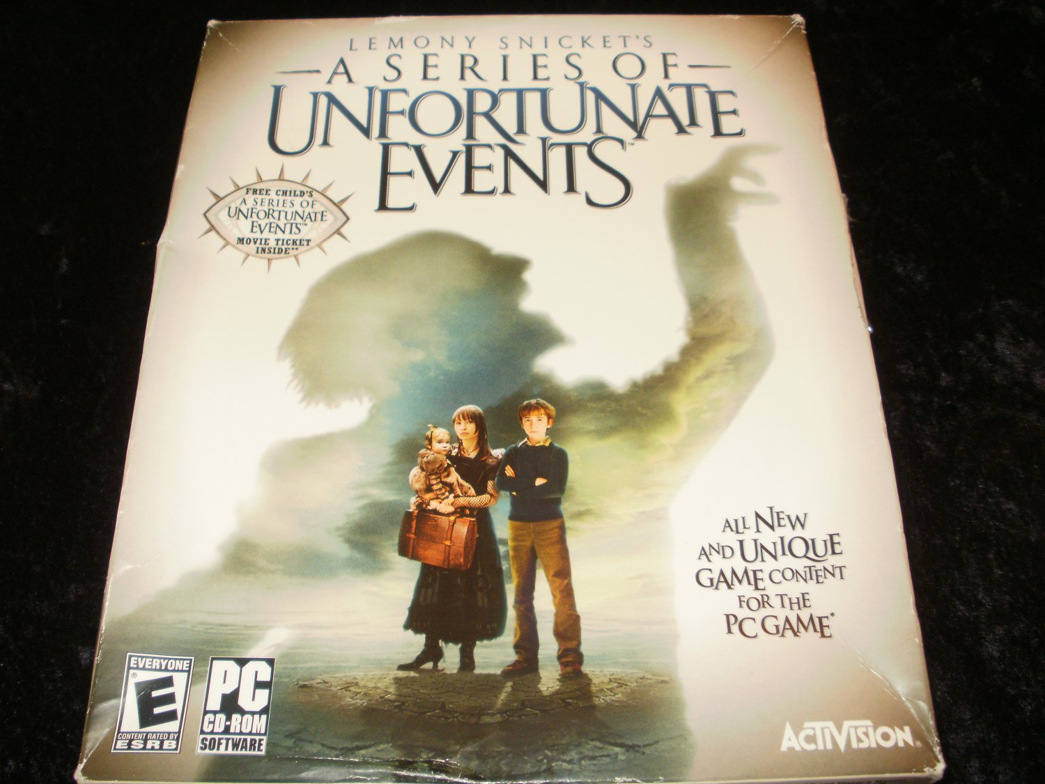 A Series of Unfortunate Events - 2004 Activision - Windows PC - Complete CIB