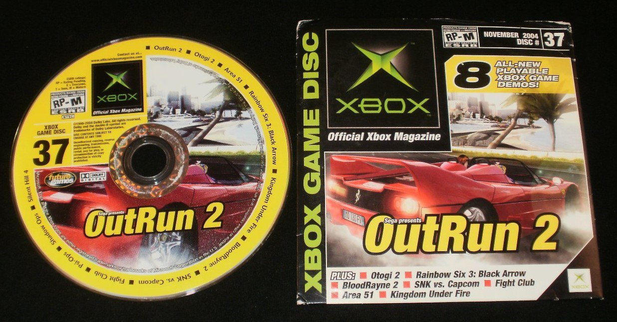 Official Xbox Magazine Demo Disc - Number 37, November 2004