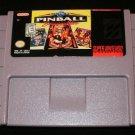 Super Pinball Behind the Mask - SNES Super Nintendo