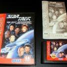 Star Trek The Next Generation - Sega Genesis - Complete CIB
