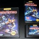 Strider Returns - Sega Genesis - Complete CIB