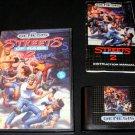 Streets of Rage 2 - Sega Genesis - Complete CIB