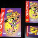 Aaahh Real Monsters - Sega Genesis - Complete CIB