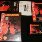 Battletech - Sega Genesis - Complete CIB