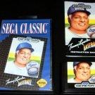 Tommy Lasorda Baseball - Sega Genesis - Complete CIB - 1992 Sega Classic Version