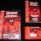 Maximum Carnage - Sega Genesis - Complete CIB - Red Cart Version