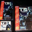 Terminator 2 Judgment Day - Sega Genesis - Complete CIB - Original 1993 Release