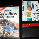 Golvellius Valley of Doom - Sega Master System - With Box