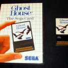 Ghost House - Sega Master System - With Box