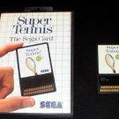 Super Tennis - Sega Master System - With Box