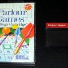 Parlour Games - Sega Master System - With Box